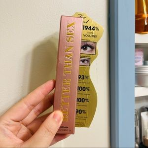 Too faced mascara- free with purchase of 3 items